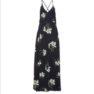 Daily look Wendy floral maxi dress